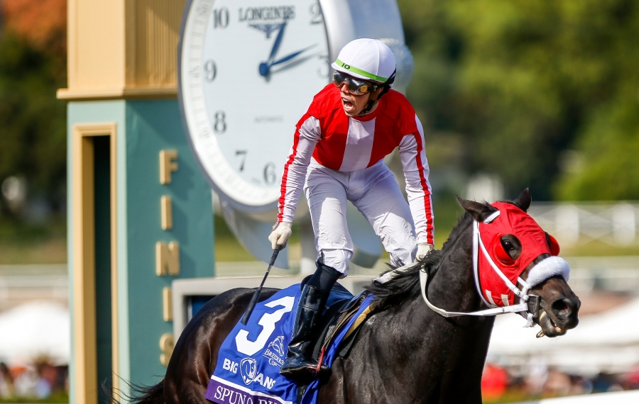 Post Time: Cigar Mile on tap at the Big A