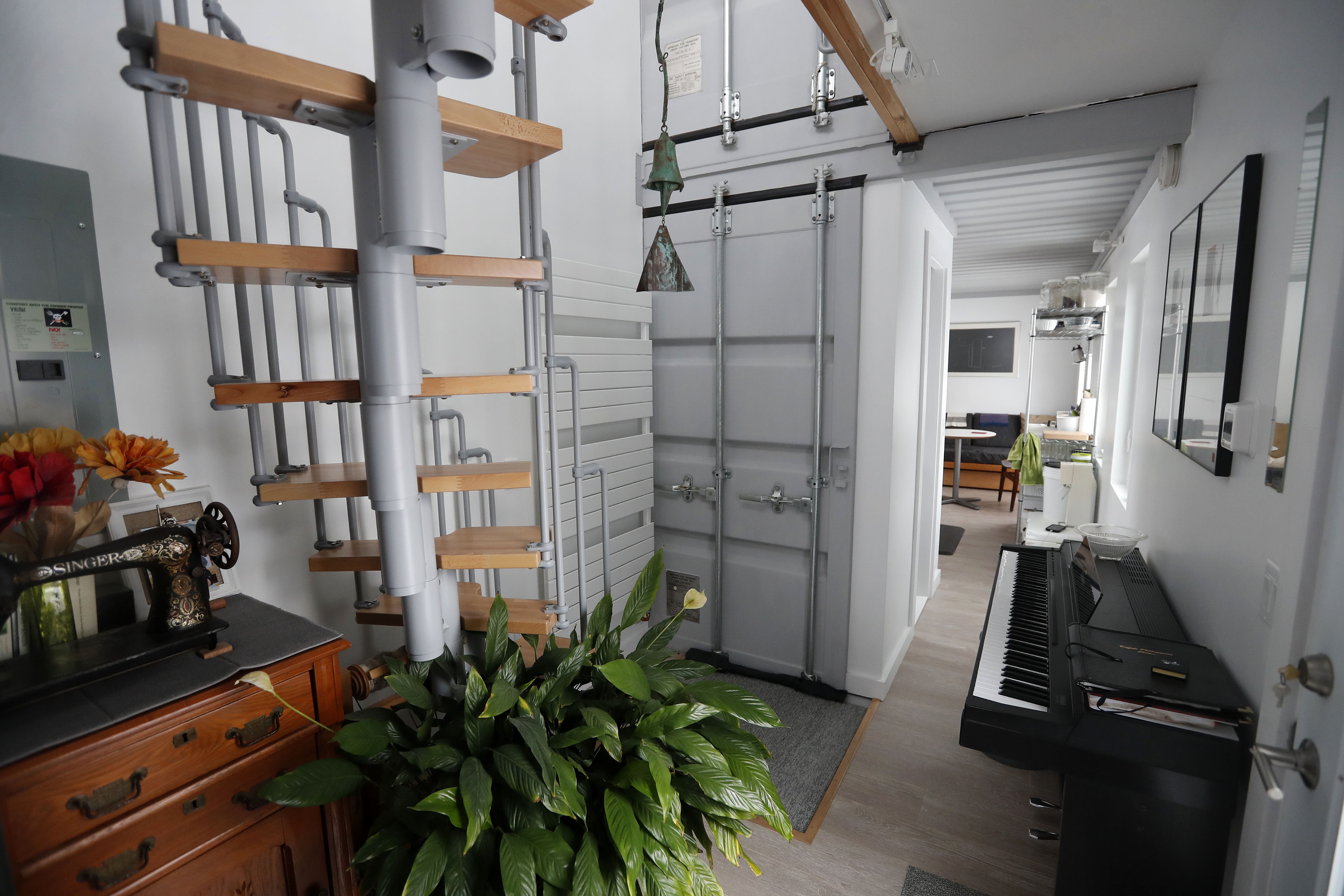 Home Of The Month A Shipping Container Little House The