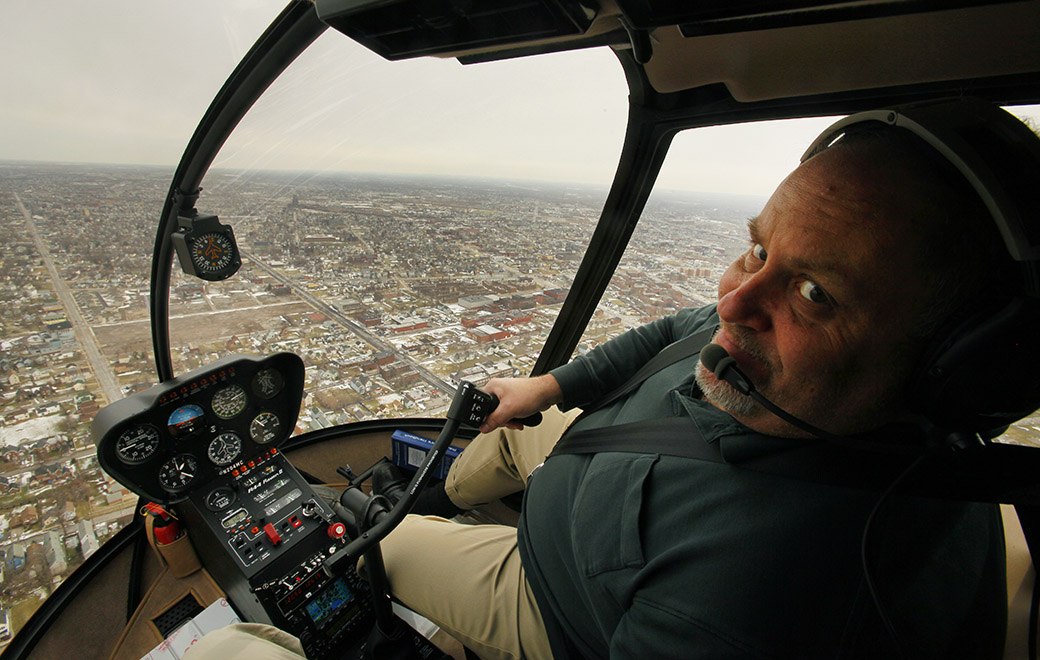 Mark Croce loved seeing Buffalo from the sky. It was a gift he shared ...