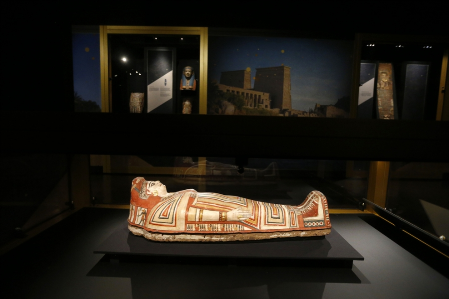 Buffalo Museum of Science-Golden Mummies of Egypt Exhibit-2020