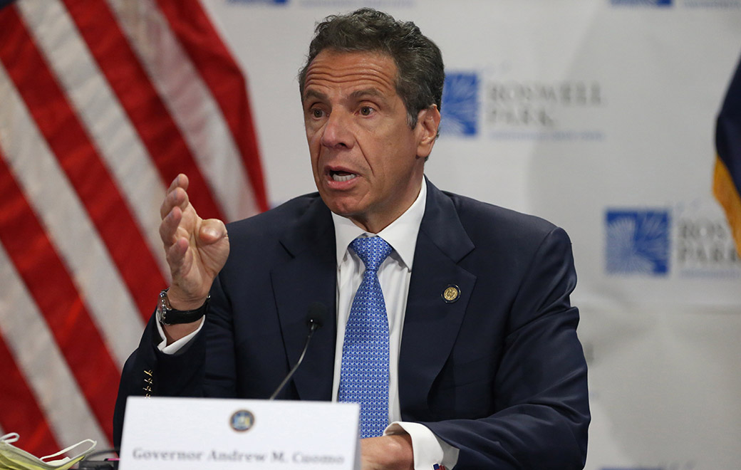 Cuomo promotes New York City infrastructure projects at...
