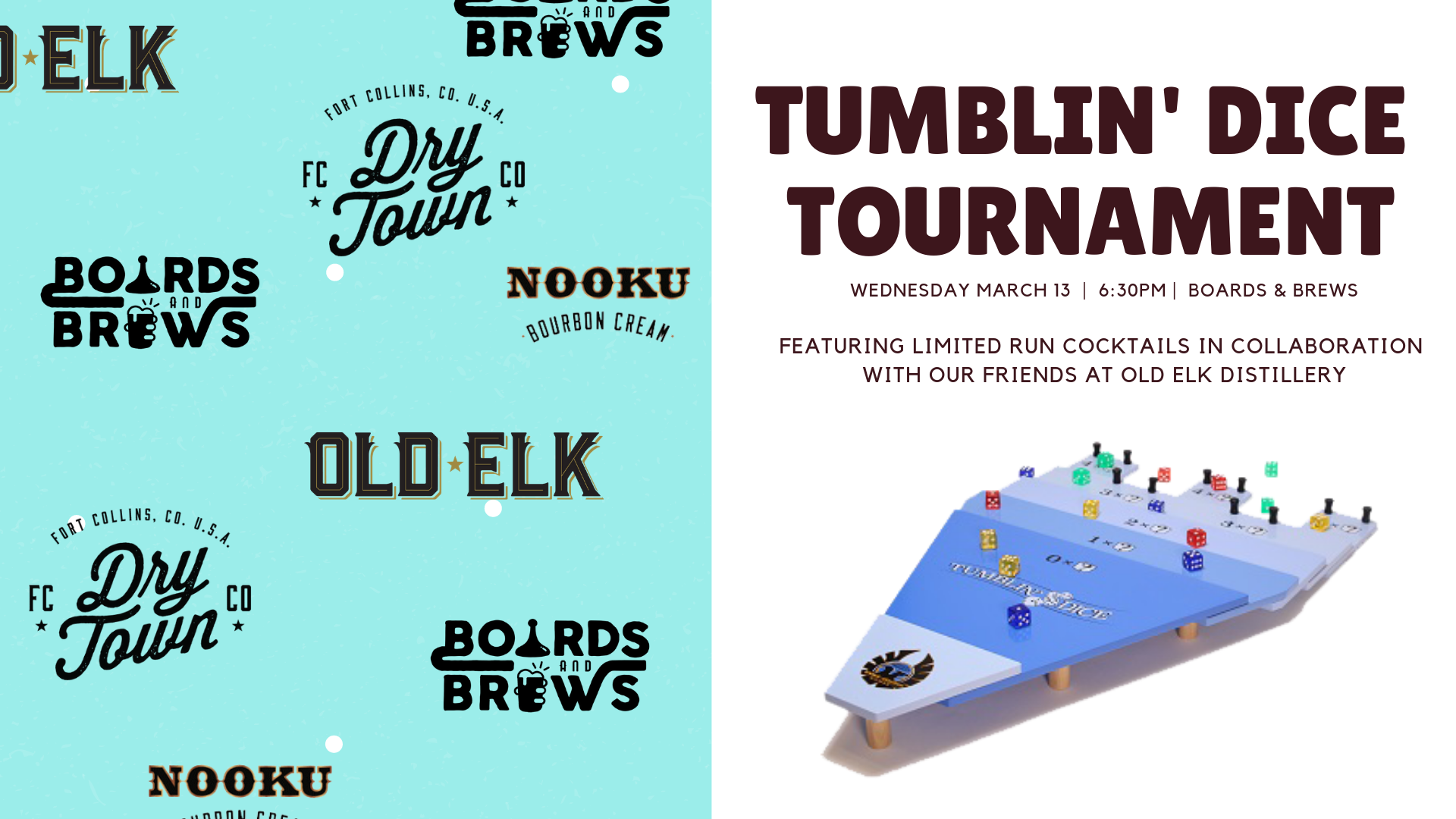 Tumblin dice tourney cover photo