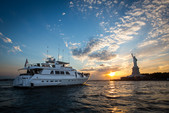 97 ft. Guy Couach Mega Yacht Boat Rental New York Image 10