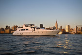 97 ft. Guy Couach Mega Yacht Boat Rental New York Image 15