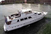 97 ft. Guy Couach Mega Yacht Boat Rental New York Image 17