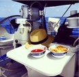 40 ft. Hunter Hunter 40.5 Cruiser Boat Rental West Palm Beach  Image 2
