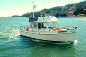 32 ft. Grand Banks FLYING BRIDGE TRAWLER Motor Yacht Boat Rental San Francisco Image 1