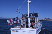 32 ft. Grand Banks FLYING BRIDGE TRAWLER Motor Yacht Boat Rental San Francisco Image 3