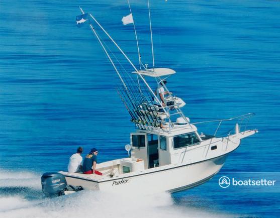 Rent a 2006 28 ft  Parker Marine Ent 2320 SL SPORT CABIN(*) in Newport  Beach, CA on Boatsetter