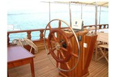 128 ft. custom made Gulet Motorsailer Boat Rental Ölüdeniz Image 5