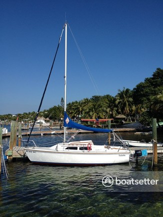 Rent a 1986 22 ft  Catalina Yachts 22 in Key Largo, FL on Boatsetter