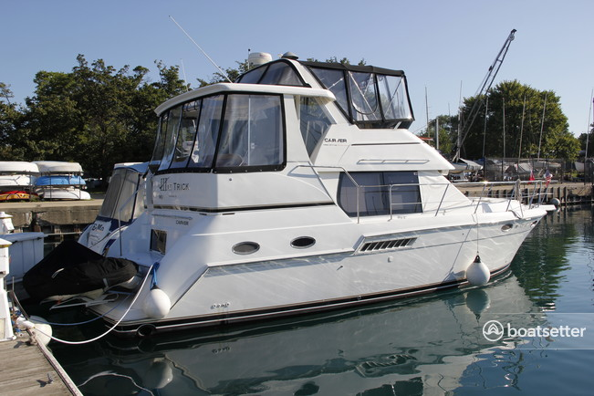 Rent A Carver Yachts 356 Motor Yacht In Chicago Il On