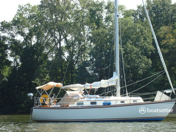Rent A 1982 30 Ft Bristol 29 9 In Annapolis Md On Boatsetter