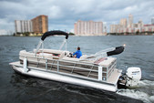 "22 ft. 24"" Bentley Pontoon Boat Pontoon Boat Rental Miami Image 13"