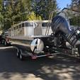 25 ft. 2014 Starcraft Star Lounger 24.5' w/150 HP Pontoon Boat Rental Seattle-Puget Sound Image 1