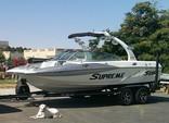 21 ft. Ski Supreme V208 Sky Ski And Wakeboard Boat Rental Sacramento Image 3
