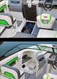24 ft. 2016 Chaparral 243 Vortex Jet Boat Boat Rental Jacksonville Image 8