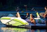 24 ft. 2016 Chaparral 243 Vortex Jet Boat Boat Rental Jacksonville Image 4