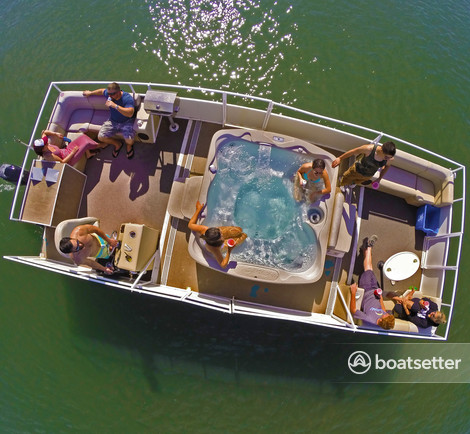 Hot Tub Boat >> Rent A 2013 26 Ft Custom Built Hot Tub Cruisin Boat In San Diego Ca