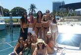45 ft. Meridian Yachts 391 Sedan Flybridge Boat Rental Miami Image 12