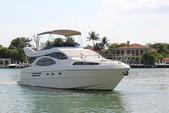 46 ft. Azimut Yachts 46 Flybridge Boat Rental Miami Image 2