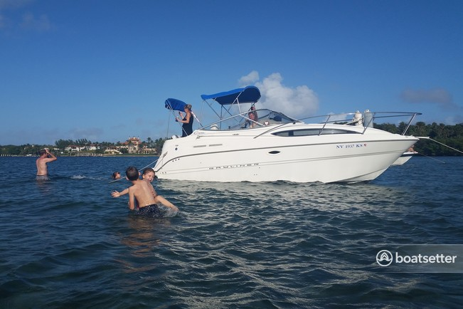 Rent a 2000 25 ft  Bayliner 2455 Ciera Sunbridge in Lake Worth, FL on  Boatsetter