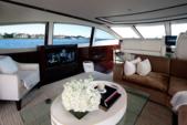 "75 ft. Lazzara Marine 75'4"" E Cruiser Boat Rental Miami Image 6"