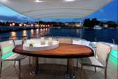 "75 ft. Lazzara Marine 75'4"" E Cruiser Boat Rental Miami Image 14"