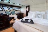 "75 ft. Lazzara Marine 75'4"" E Cruiser Boat Rental Miami Image 15"
