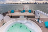 88 ft. Ferretti 88 Motor Yacht Boat Rental Miami Image 4