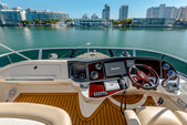 45 ft. Meridian Yachts 391 Sedan Flybridge Boat Rental Miami Image 1