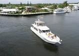 60 ft. Navigator Rival Flybridge Boat Rental Miami Image 3