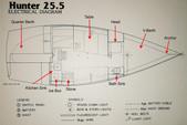 26 ft. Hunter 25.5 Cruiser Boat Rental Washington DC Image 33