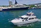 60 ft. Navigator Rival Flybridge Boat Rental Miami Image 2