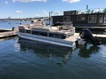 24 ft. Sun Tracker by Tracker Marine Party Barge 22 DLX w/115ELPT 4-S Pontoon Boat Rental Seattle-Puget Sound Image 1