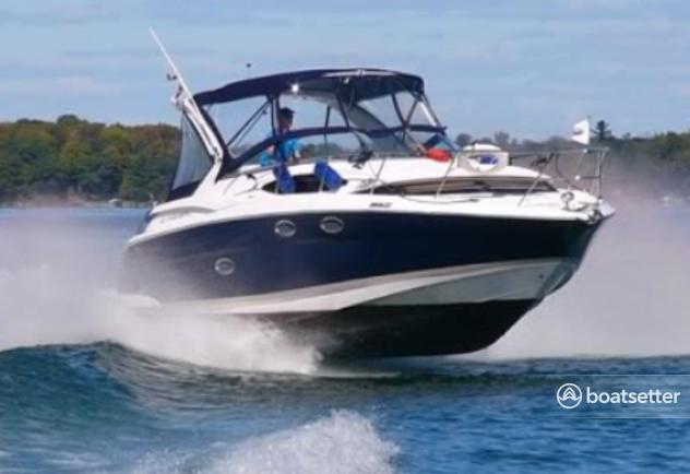 Rent a 2007 32 ft regal boats 3060 window express in sag for Motor boat rental san francisco