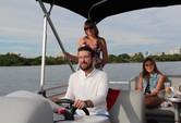 22 ft. Bentley Pontoon 220 Prestige LC  Pontoon Boat Rental Miami Image 4