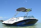19 ft. Yamaha AR 190 Bow Rider Boat Rental Miami Image 11