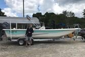 25 ft. Carolina Skiff 258 DLV Center Console Boat Rental Tampa Image 7