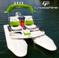11 ft. CraigCat CraigCat E2 Elite E-Tec Pontoon Boat Rental Dallas-Fort Worth Image 1