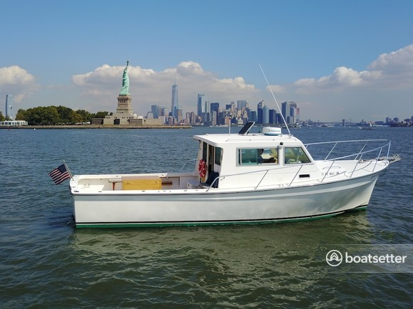 Rent a 1998 35 ft henriques yachts 35 maine coaster sf in for Fishing boat rentals near me