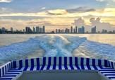 40 ft. Baia Jeroboam Cruiser Boat Rental Miami Image 5