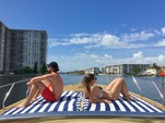 40 ft. Baia Jeroboam Cruiser Boat Rental Miami Image 8