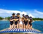 40 ft. Baia Jeroboam Cruiser Boat Rental Miami Image 11