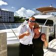 60 ft. Navigator Rival Flybridge Boat Rental Miami Image 32