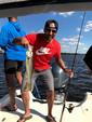 25 ft. Carolina Skiff 258 DLV Center Console Boat Rental Tampa Image 19