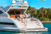 72 ft. Mangusta Maxi Open Motor Yacht Boat Rental Miami Image 16