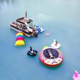 27 ft. Avalon Pontoons 27' Paradise Funship Pontoon Boat Rental Miami Image 7