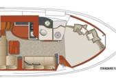 40 ft. Four Winns 378 Vista Boat Rental Chicago Image 15
