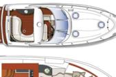 40 ft. Four Winns 378 Vista Boat Rental Chicago Image 16